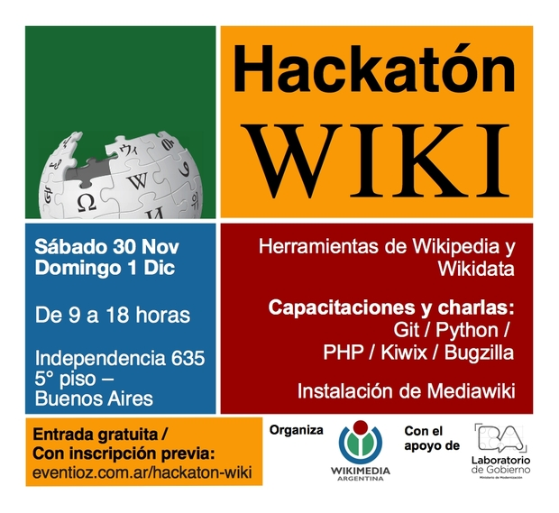 Hackatón Wiki