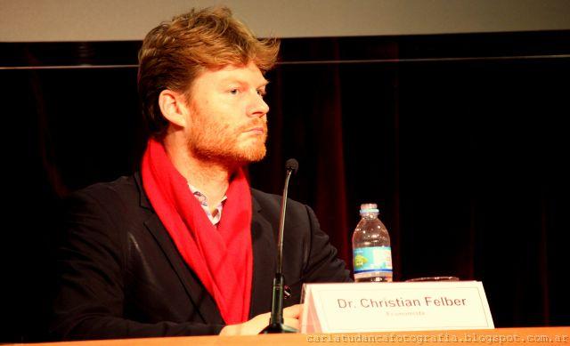El profesor austríaco Christian Felber presentó la Economía del Bien Común en la UBA