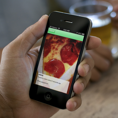 Una aplicación para donar la comida que te sobró a quien tenga hambre
