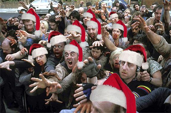 Navidad zombie