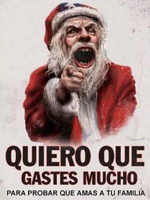 Papá Noel del Consumismo