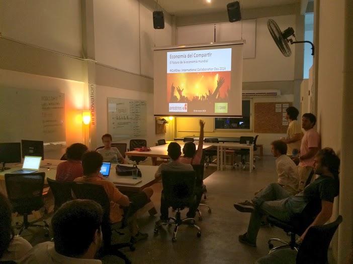 OuiShare en el Día Internacional de la Colaboración en areatres labs