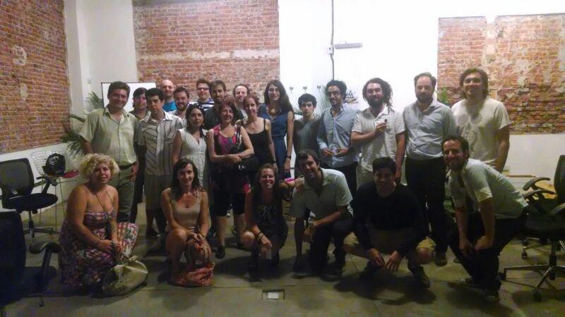 Festejo del Día Internacional de la Colaboración en La Maquinita