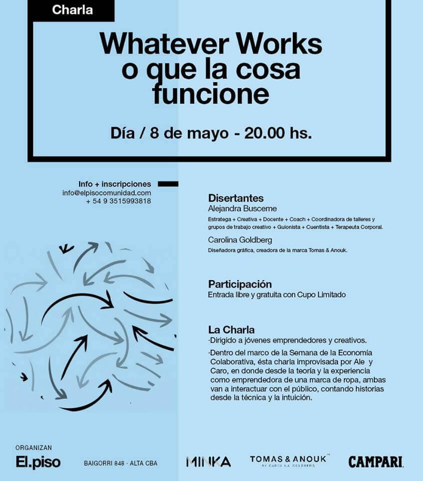 Whatever works o que la cosa funcione, Semana de la economía colaborativa