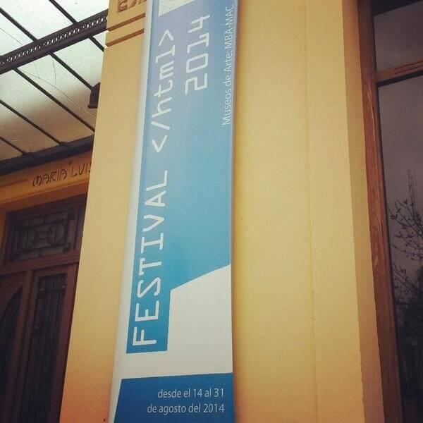 Festival HTML en los museos de arte MBA - MAC, Bahía Blanca
