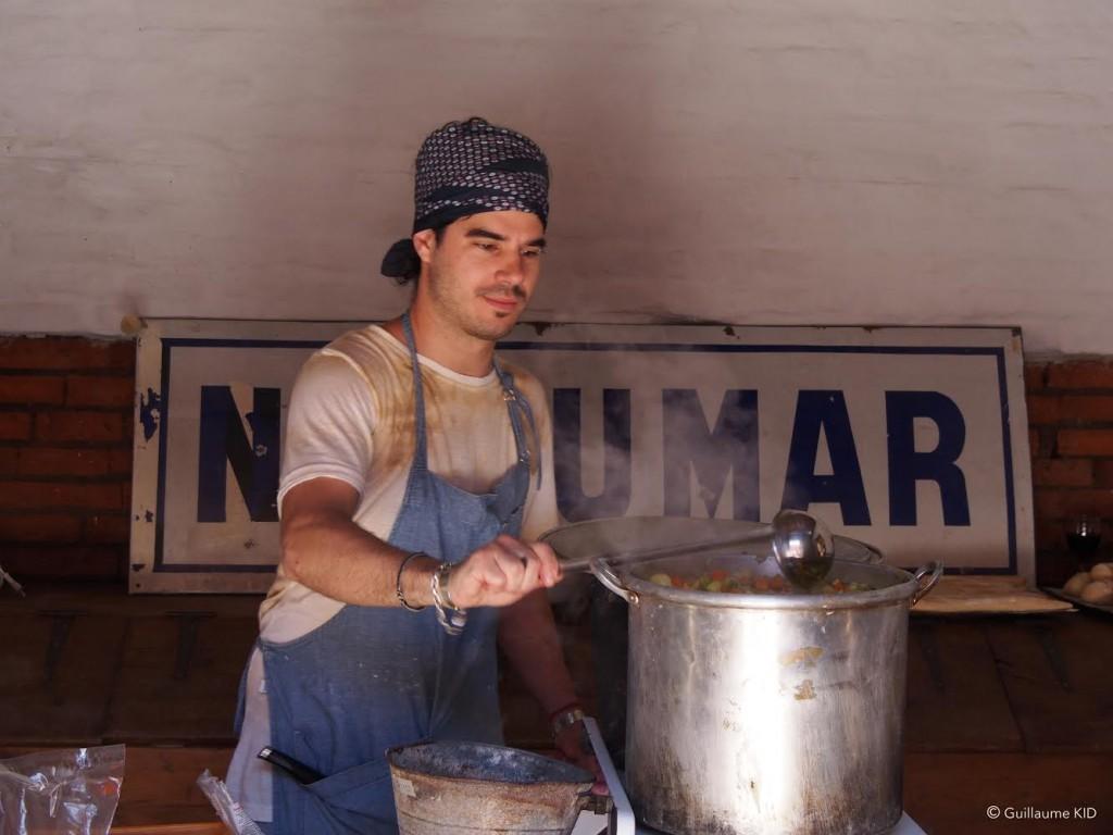 Primera Disco Sopa argentina - Chef Andrés Brunero