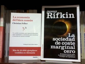 Libros de Christian Felber y Jeremy Rifkin