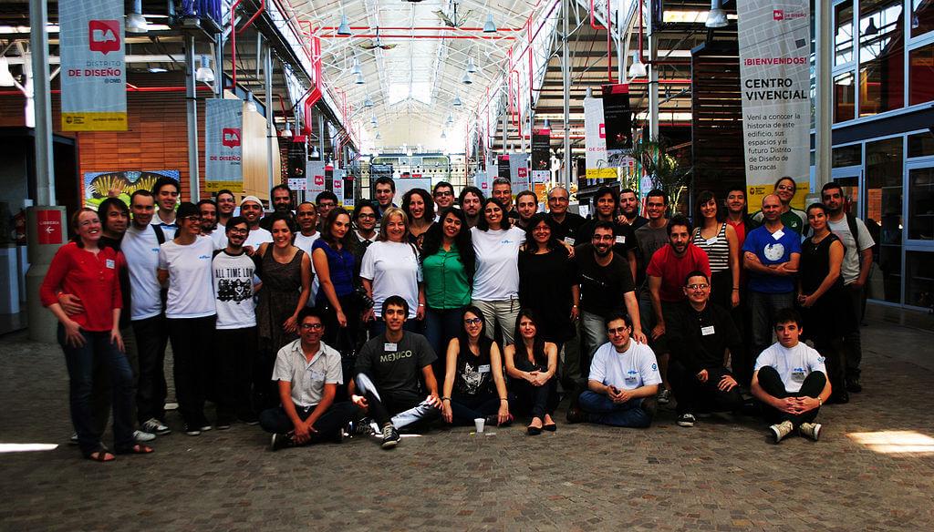 Foto grupal Iberoconf por @ProtoplasmaKid