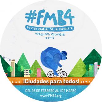 logo foro mundial bicicleta medellin