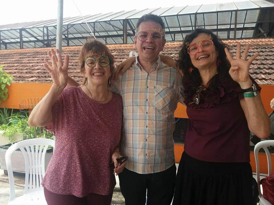Heloisa Primavera, Joaquim Melo y Lala Deheizelin en Emergências.