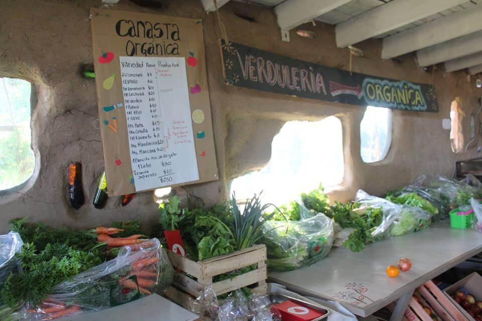 Canastas orgánicas en Akapacha Chascomús