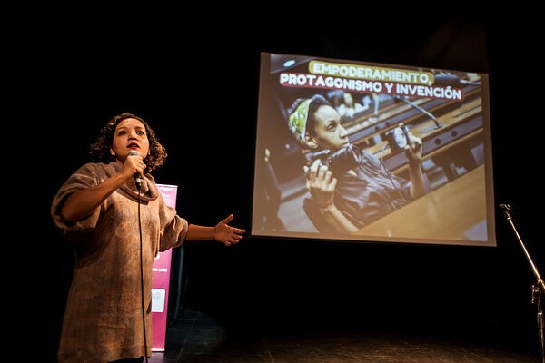 Marielle Ramires en Comunes 2017 - Foto: Emergentes