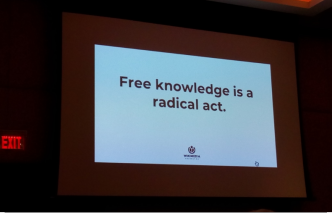 Free knowledge is a radical act