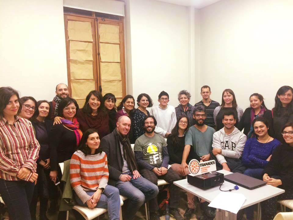 Economía circular y colaborativa para las artes, Tramados, Santiago, Chile